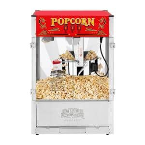 Red Great Northern Midway Marvel Commercial Quality Popcorn Popper 16 Ounce