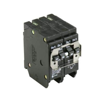 BR 1-20 Amp 2 Pole and 1-30 Amp 2 Pole BQ (Independent Trip) Quad Circuit Breaker