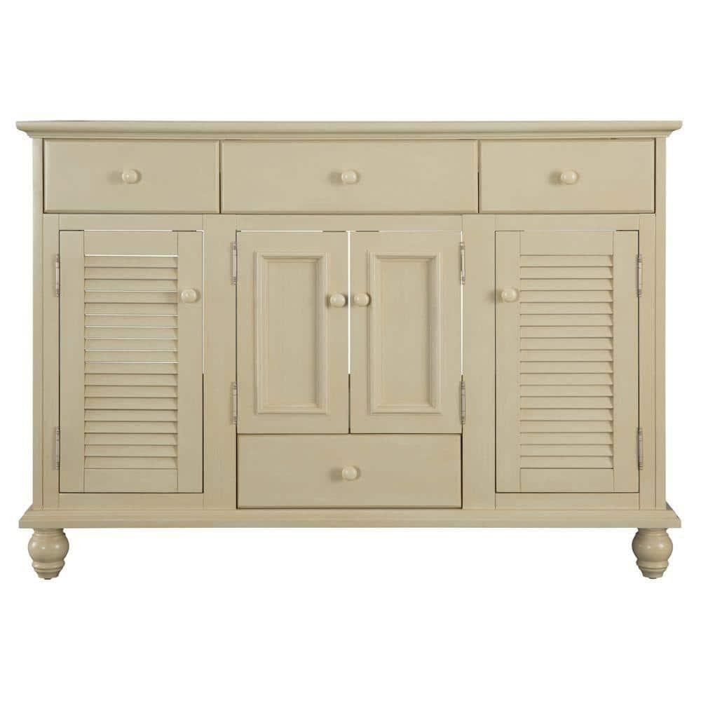 W Bath Vanity Cabinet Only, Antique White Bathroom Vanity Home Depot