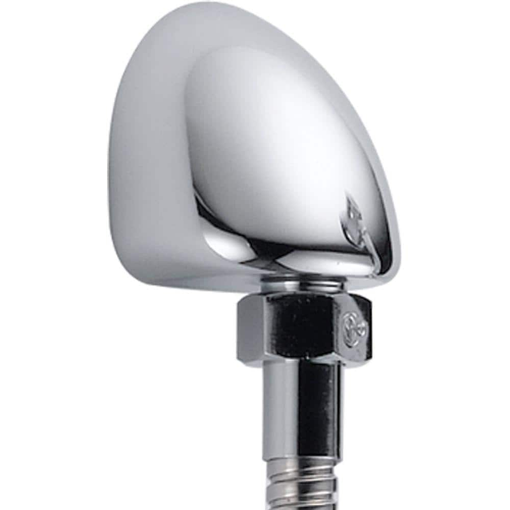 Delta Hand Shower Wall Elbow in Chrome for Wall-Mount Hand Showers-50560 -  The Home Depot