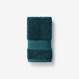 Legends Regal Forest Green Solid Egyptian Cotton Hand Towel