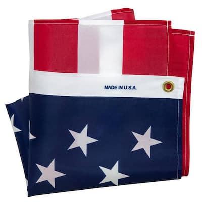 3 ft. x 5 ft. Printed U.S. Repreve Flag