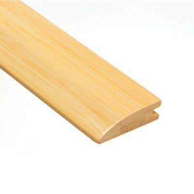 Horizontal Natural 9/16 in. Thick x 2 in. Wide x 47 in. Length Bamboo Hard Surface Reducer Molding