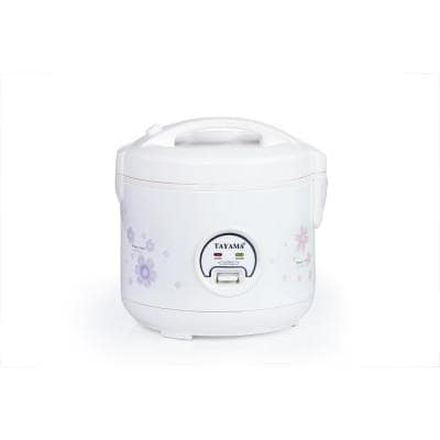 10-Cup White Rice Cooker with Steamer and Non-Stick Inner Pot