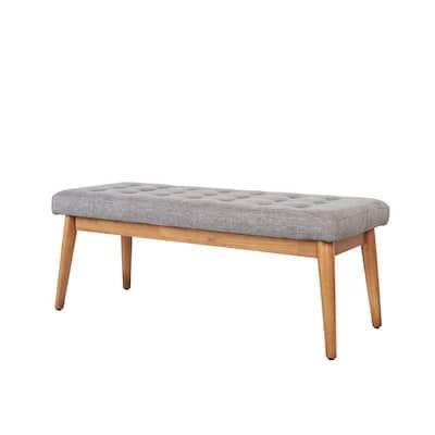 Landon Acorn Upholstered Bench