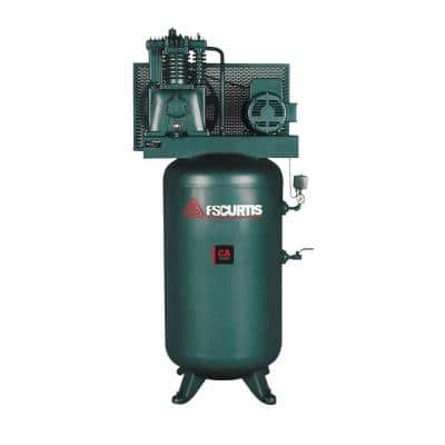 80 Gal. 7.5 HP 230-Volt 1-Phase Electric Air Compressor