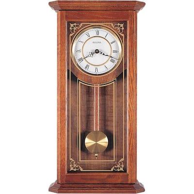 26 in. x 12.25 in. Pendulum Wall Clock