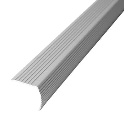 Cinch 1.22 in. x 36 in. Beige Fluted Stair Edging Transition Strip