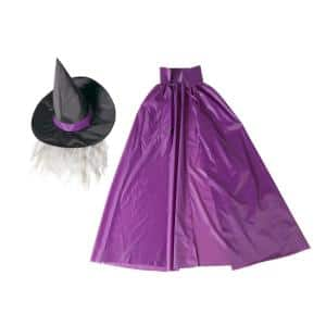 Witch Costume Kit for 12 ft. Skeleton