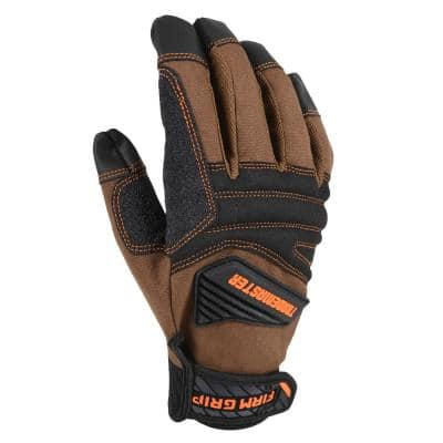 Trade Master Large Tan Duck Canvas Glove