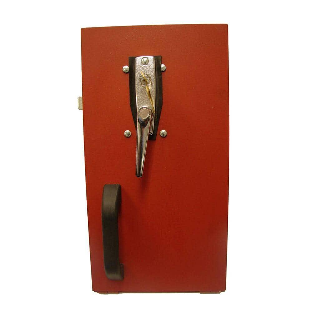 Gordon Cellar Door Chrome Exterior Keyed Lock Lk The Home Depot