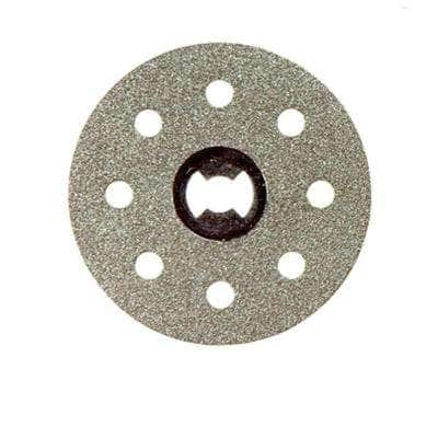 EZ Lock 1-1/2 in. Rotary Tool Diamond Tile Cutting Wheel for Tile and Ceramic Materials
