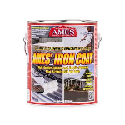 1 Gal. White Iron Coat Superior Metal Reflective Roof Coating