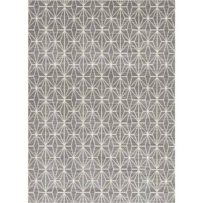 Uptown Collection Fifth Avenue Gray 9' 0 x 12' 0 Area Rug