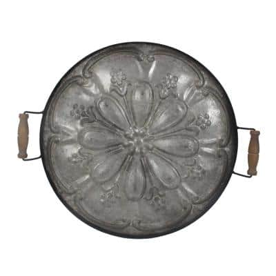 Ravello Round Antique Tray
