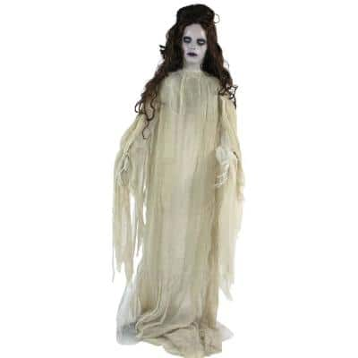 72 in. Touch Activated Animatronic Bride