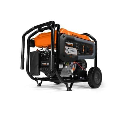 GP 8,000-Watt Electric Start Gas Powered Portable Generator with CO-Sense 50-ST/CARB