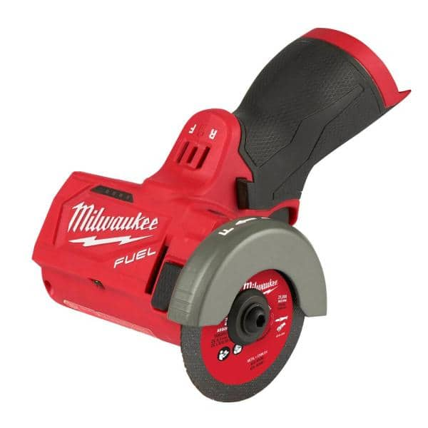 """Milwaukee M12 FUEL 12V 3/"""" Lithium-Ion Brushless Cordless Cut Off Saw 2522-20"""