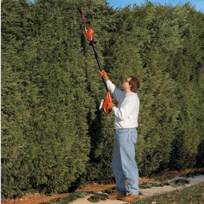 18 in. 20V MAX Lithium-Ion Cordless Pole Hedge Trimmer (Tool Only)