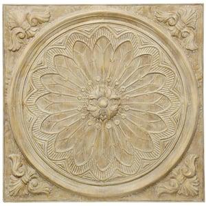 Traditional Medallion Natural Slate Metal Work