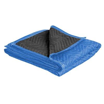 72 in. x 80 in. Reversible Moving Blanket Set (12-Pack)
