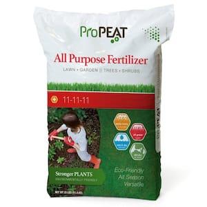 25 lbs. 5,445 sq. ft. All-purpose Dry Lawn Fertilizer (11-11-11)