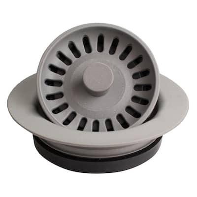3-1/2 in. Kitchen Sink Decorative Disposal Flange in Grey