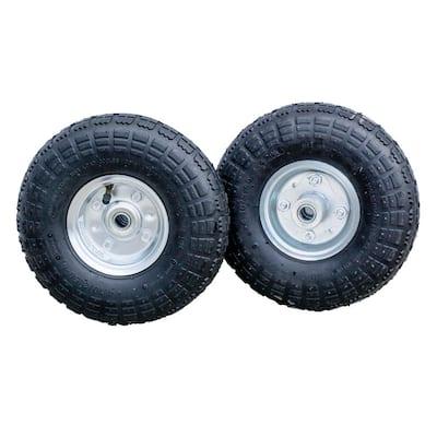 10 in. Pneumatic Tire (2-Pack)