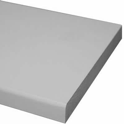 1 in. x 4 in. x 12 ft. Primed MDF Board (Common: 11/16 in. x 3-1/2 in. x 12 ft.)