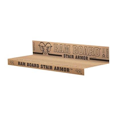 34 in. x 19 In. Stair Armor Stair Protectors (6 Per Box)