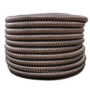 Hydromaxx 1 2 In Dia X 100 Ft Black Flexible Corrugated Pvc Split Tubing And Convoluted Wire Loom Bps0012100 The Home Depot