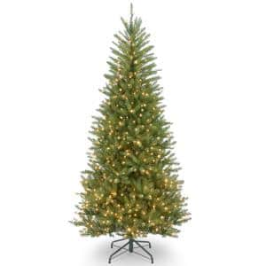 10 ft. Dunhill Fir Slim Tree with Clear Lights