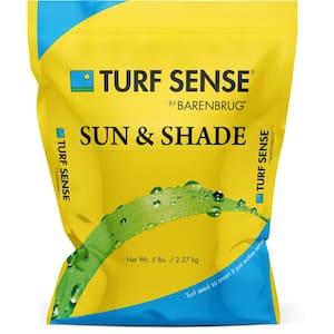 5 lbs. 1,600 sq. ft. Turf Sense Sun and Shade Mix Grass Seed