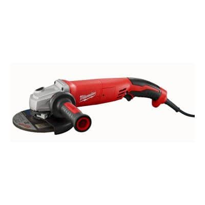 13 Amp 5 in. Small Angle Grinder with Lock-On Trigger Grip
