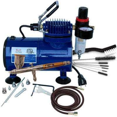 Airbrush Package (TG-3F, D500SR and AC-7)