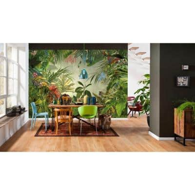 145 in. H x 98 in. W Into the Wild Wall Mural