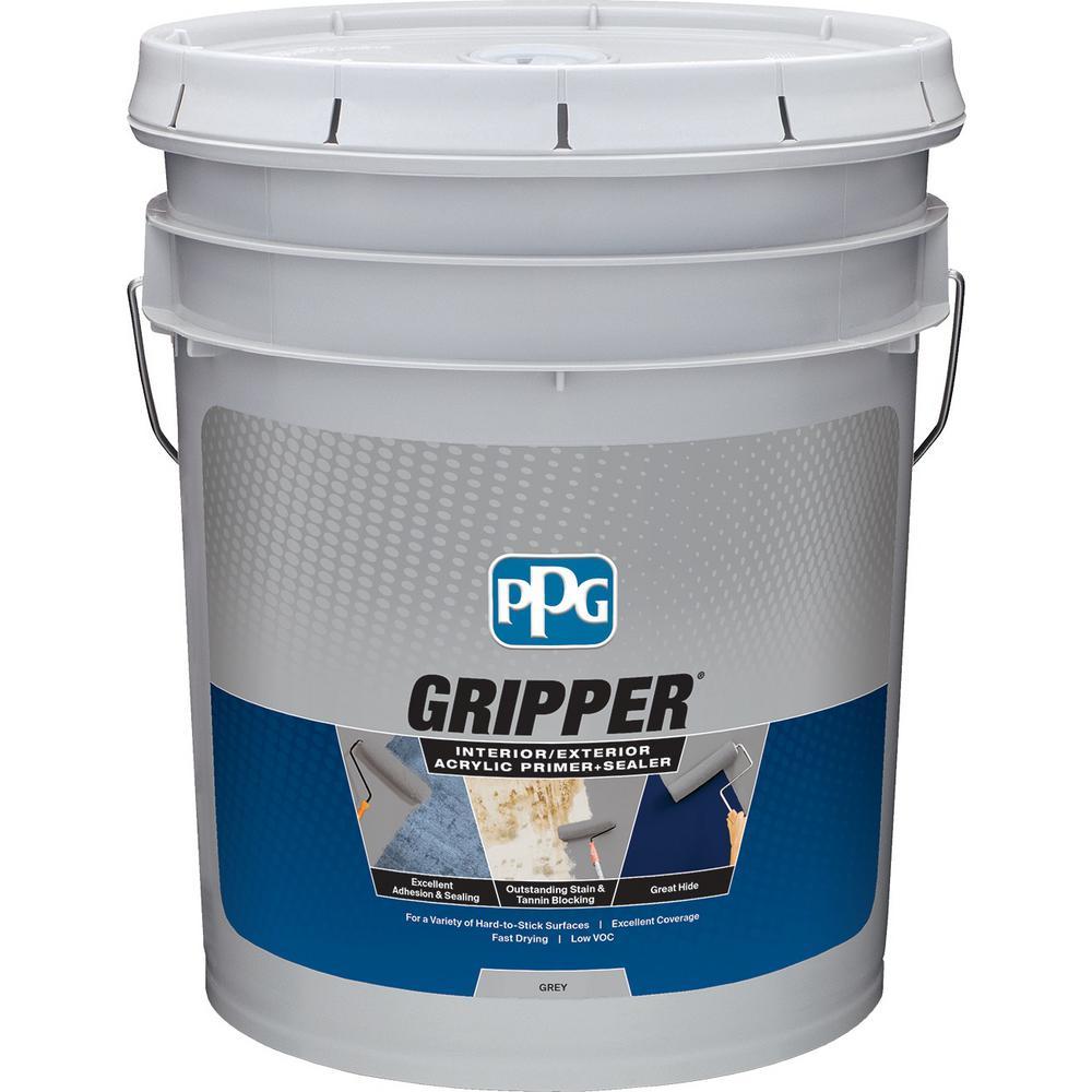 5 gal. Grey Interior/Exterior Acrylic Primer Sealer