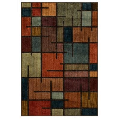 Fairfield Charcoal 8 ft. x 10 ft. Area Rug