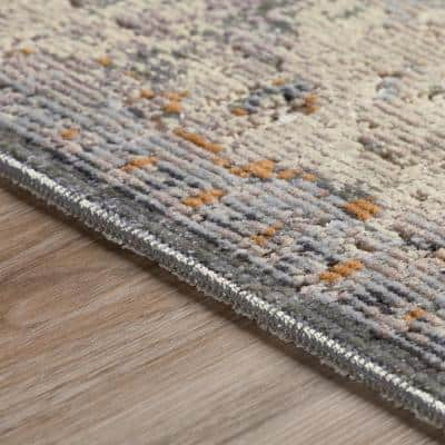 Freya 1 Pewter 9 ft. 4 in. x 13 ft. 3 in. Area Rug