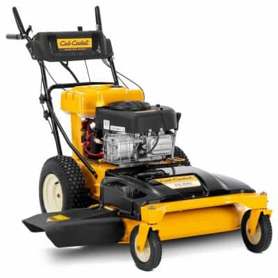 33 in. 10.5 HP Briggs and Stratton Electric Start Gas Engine Wide Area Walk Behind Self Propelled Lawn Mower