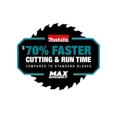 10 in. 80T Carbide-Tipped Max Efficiency Miter Saw Blade