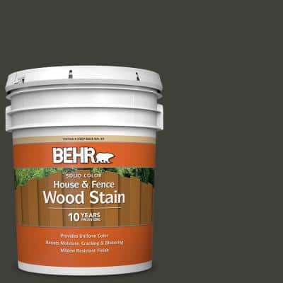 5 gal. #PPU18-20 Broadway Solid Color House and Fence Exterior Wood Stain