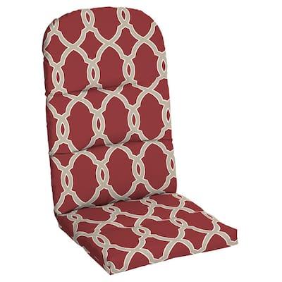 Jeanette Trellis Outdoor Adirondack Chair Cushion