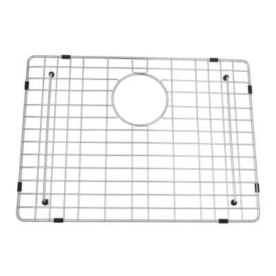 Brooke 20-3/4 in. x 15 in. Wire Grid for Single Bowl Kitchen Sinks in Stainless Steel