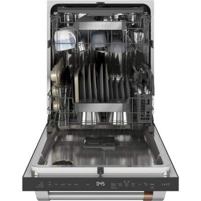 24 in. Stainless Steel Top Control Smart Built-In Tall Tub Dishwasher 120-Volt with 3rd Rack and 45 dBA