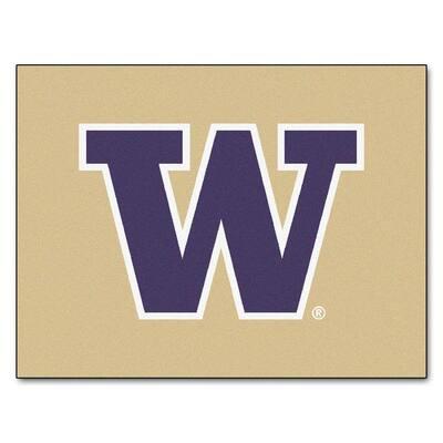 University of Washington 3 ft. x 4 ft. All-Star Rug
