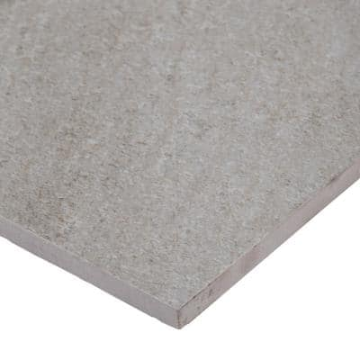 Brixstyle Gris 12 in. x 24 in. Matte Porcelain Floor and Wall Tile (12 sq. ft./Case)