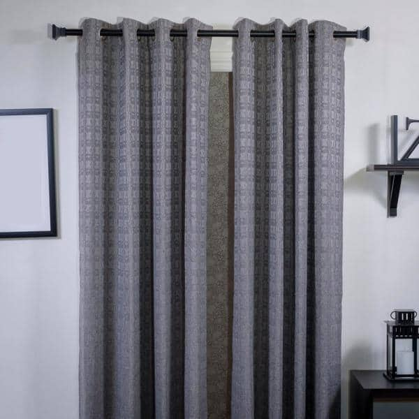 108 In Telescoping Single Curtain Rod