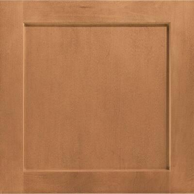 Leesburg 15 x 15 in. Cabinet Door Sample in Spice