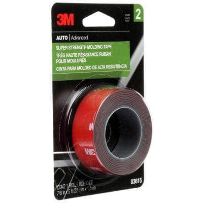 7/8 in. x 1.66 yds. Super Strength Molding Tape